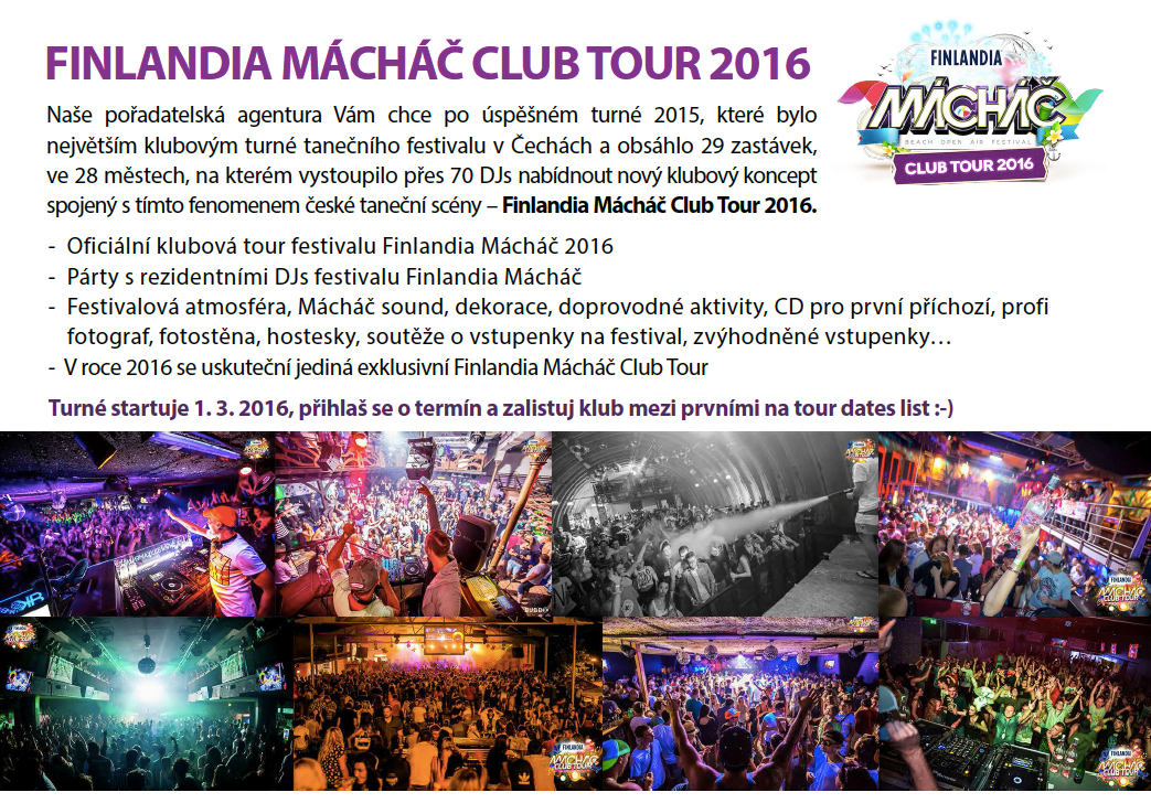 machac club tour