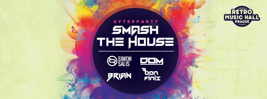 Ofici ln smash the house afterparty v retro music hall for Retro house music