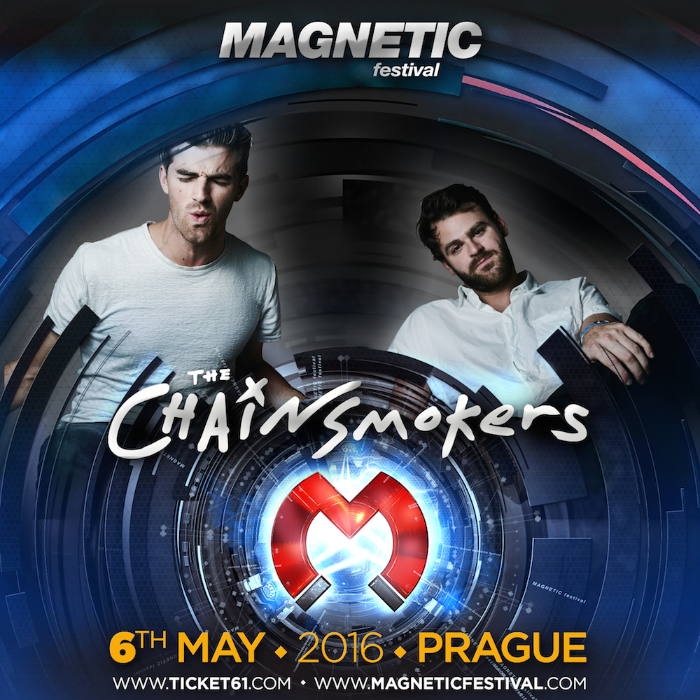 The Chainsmokers přivezou do Prahy megahit Roses!