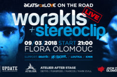 Worakls v Olomouci na Beats for Love on the road.